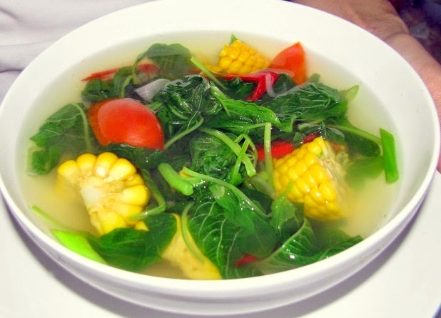 Image result for sayur bening